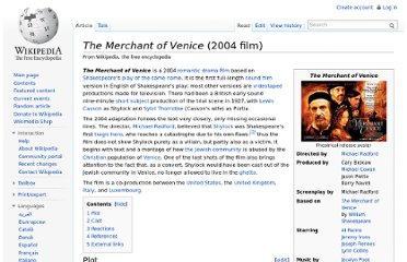 http://en.wikipedia.org/wiki/The_Merchant_of_Venice_(2004_film)
