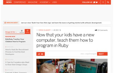 http://thenextweb.com/dd/2011/12/26/now-that-your-kids-have-a-new-computer-teach-them-how-to-program-in-ruby/