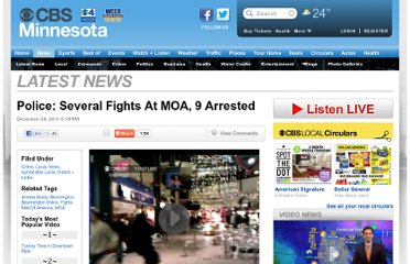 http://minnesota.cbslocal.com/2011/12/26/several-fights-reported-at-mall-of-america/