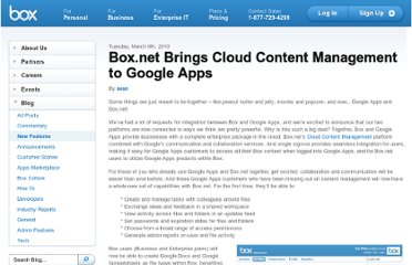 http://blog.box.com/2010/03/box-net-brings-cloud-content-management-to-google-apps/