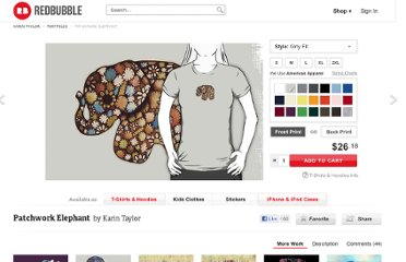 http://www.redbubble.com/people/karin/works/3414574-patchwork-elephant?p=t-shirt