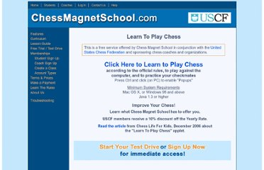 http://www.chessmagnetschool.com/learnchess.php