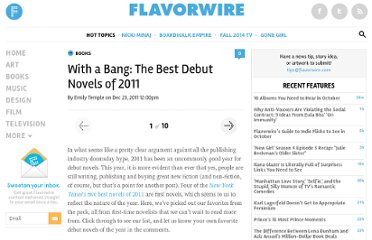 http://flavorwire.com/244492/with-a-bang-the-best-debut-novels-of-2011