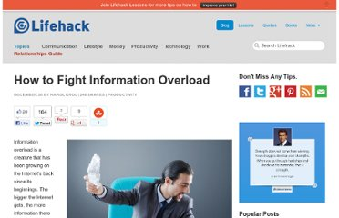 http://www.lifehack.org/articles/productivity/how-to-fight-information-overload.html