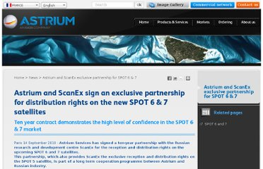 http://www.astrium-geo.com/en/146-astrium-and-scanex-exclusive-partnership-for-spot-6-7