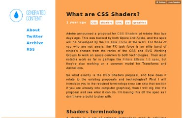 http://generatedcontent.org/post/11059109286/cssshaders
