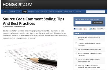 http://www.hongkiat.com/blog/source-code-comment-styling-tips/