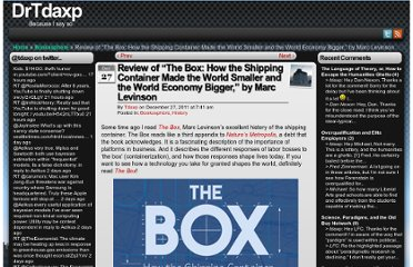 http://www.tdaxp.com/archive/2011/12/27/review-of-the-box-how-the-shipping-container-made-the-world-smaller-and-the-world-economy-bigger-by-marc-levinson.html