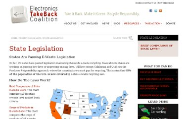 http://www.electronicstakeback.com/promote-good-laws/state-legislation/