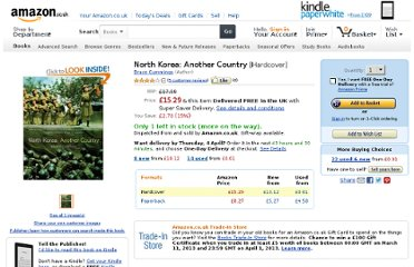 http://www.amazon.co.uk/North-Korea-Another-Bruce-Cummings/dp/156584873X
