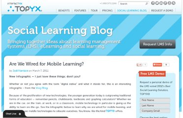 http://interactyx.com/social-learning-blog/are-we-wired-for-mobile-learning/