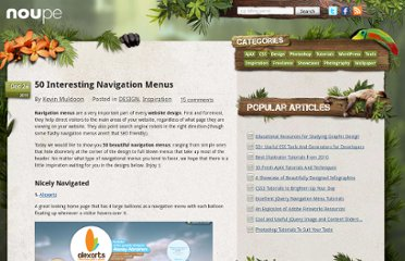 http://www.noupe.com/design/50-interesting-navigation-menus.html