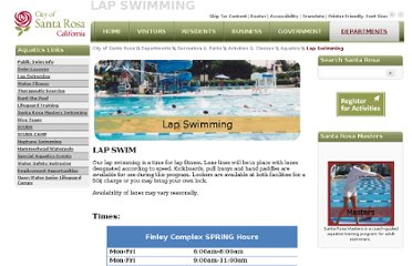 http://ci.santa-rosa.ca.us/departments/recreationandparks/programs/aquatics/Pages/Lap.aspx