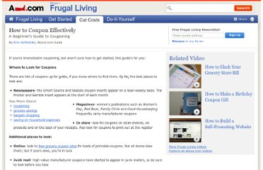 http://frugalliving.about.com/od/bargainshopping/a/Coupon_Guide.htm