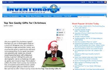 http://inventorspot.com/articles/top_ten_geeky_gifts_christmas_2008_19859