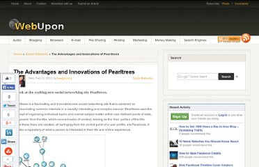 http://webupon.com/social-networks/the-advantages-and-innovations-of-pearltrees/