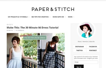 http://papernstitchblog.com/2011/08/16/how-to-make-an-insanely-cute-dress-on-a-shoestring-budget-tutorial/