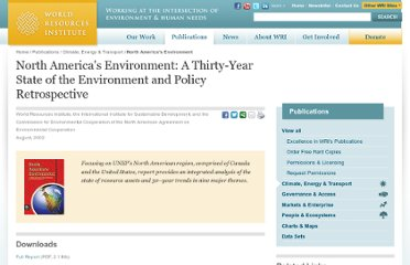 http://www.wri.org/publication/north-americas-environment