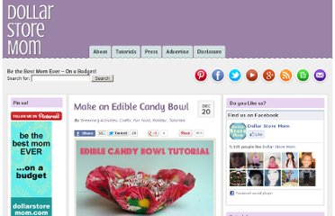 http://dollarstoremom.com/2011/12/make-an-edible-candy-bowl/