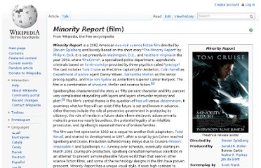 http://en.wikipedia.org/wiki/Minority_Report_(film)