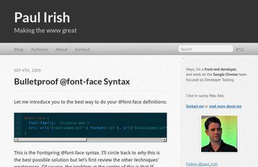 http://paulirish.com/2009/bulletproof-font-face-implementation-syntax/