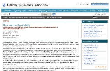 http://www.apa.org/monitor/oct02/bullying.aspx