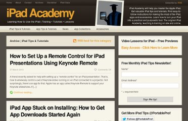 http://ipadacademy.com/category/ipad-tips-tutorials/page/4/