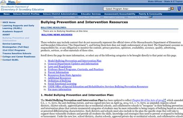 http://www.doe.mass.edu/bullying/