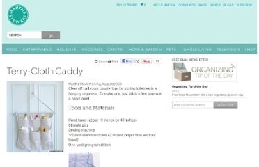 http://www.marthastewart.com/273483/terry-cloth-caddy