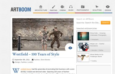 http://artboom.info/cinema/short-movies/westfield-100-years-of-style.html