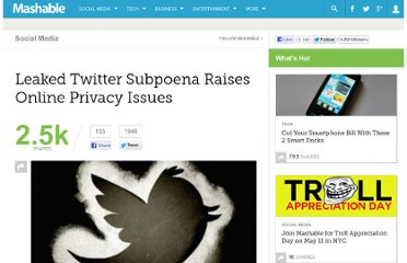 http://mashable.com/2011/12/28/leaked-twitter-subpoena-raises-online-privacy-issues/