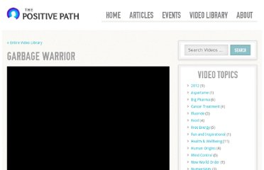 http://www.thepositivepath.info/videos/garbage-warrior/