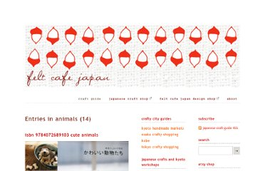 http://www.feltcafejapan.com/japanese-craft-guide/tag/animals?currentPage=2