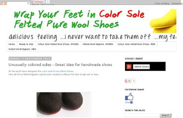 http://ekohausstore.blogspot.com/2011/09/unusually-colored-soles-great-idea-for.html