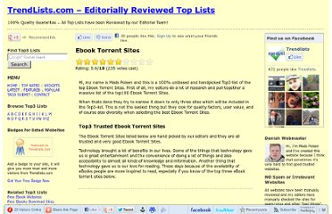 http://trendlists.com/the-best/ebook-torrent-sites.html
