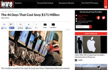 http://www.theatlanticwire.com/technology/2011/06/44-days-cost-sony-171-million/38425/