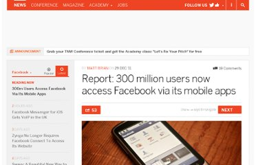 http://thenextweb.com/facebook/2011/12/29/report-300-million-users-now-access-facebook-via-a-mobile-app/