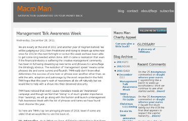http://macro-man.blogspot.com/2011/12/management-talk-awareness-week.html