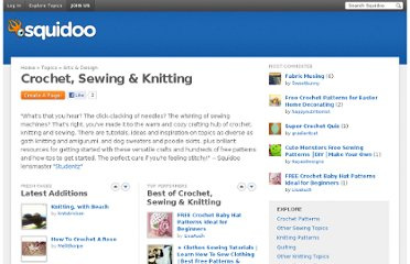 http://www.squidoo.com/topics/arts-and-design/crochet-sewing-knitting