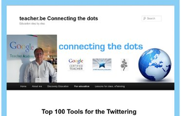 http://teacher.be/foreducation/top-100-tools-for-the-twittering-teacher/