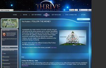 http://www.thrivemovement.com/the_problem-follow_the_money