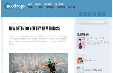http://tympanus.net/codrops/2011/12/29/how-often-do-you-try-new-things/