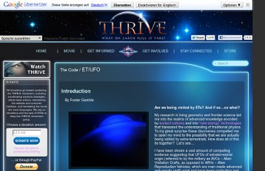 http://www.thrivemovement.com/the_code-et_ufo