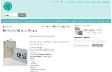 http://www.marthastewart.com/270344/how-to-bind-a-book