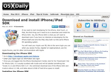 http://osxdaily.com/2010/05/14/download-and-install-iphone-ipad-sdk/