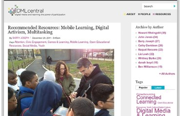 http://dmlcentral.net/blog/barry-joseph/recommended-resources-mobile-learning-digital-activism-multitasking