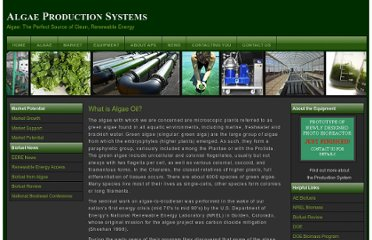 http://www.algaeproductionsystems.com/algae.html