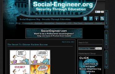 http://www.social-engineer.org/blog/
