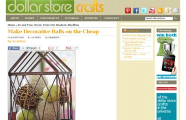 http://dollarstorecrafts.com/2009/08/decorative-balls/
