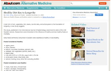 http://altmedicine.about.com/cs/treatments/a/DietLongevity.htm
